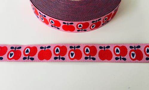 Webband HHL Simply Apple, rot / rosa